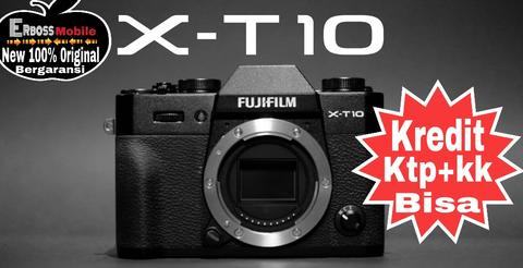 Fujifilm X-T10 18-55mm Kamera Mirrorless cash/kredit ktp+kk bisa 081905288895