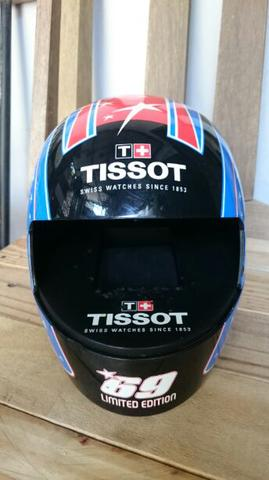 Helm Miniatur Case Original Jam Tissot Nicky Hayden Limited Edition
