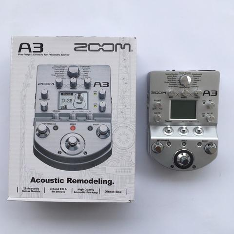 Zoom Multistomp A3 Acoustic Remodeling