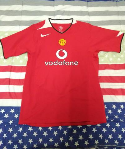 on sale a632c bfcdc JUAL BAJU BOLA / JERSEY MANCHESTER UNITED HOME 2004 - 2005 ORIGINAL