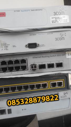 Manageable switch nortel, 3com Cisco