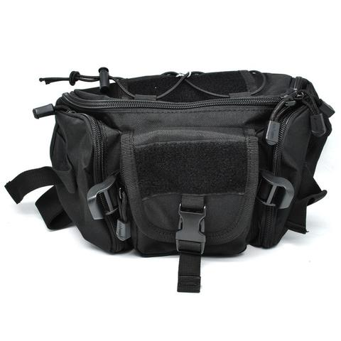 Tas Pinggang / Waist Bag Travel Adventure - Black