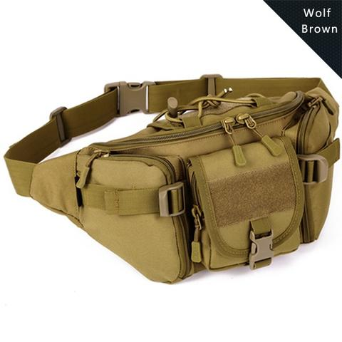 Tas Pinggang / Waist Bag Travel Adventure - Brown