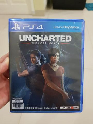 Game PS4 Uncharted The Lost Legacy