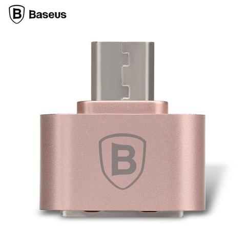 Micro USB to USB OTG Adapter Baseus Multifunction for Smartphone