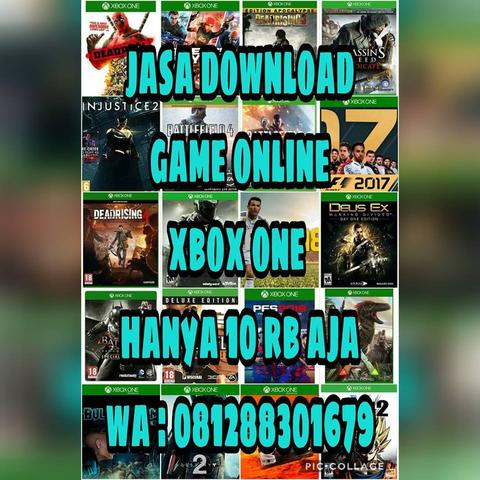 jasa download game xbox one online