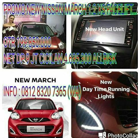 BOOKING NOW NEW NISSAN MARCH 1.2 XS FACELIFT...suzuki,honda,daihatsu,toyota