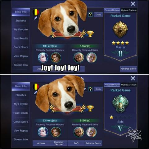 Jual Jasa Joki Tier rangking rank Mobile legend legends Baang Bang !