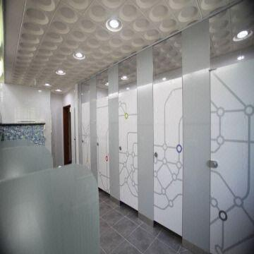 toilet cubicle partition urinal partisi honer compact laminate hpl & akesoris wc