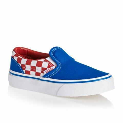 VANS AUTHENTIC (50TH) CHECKERBOARD/BLUE ASHES