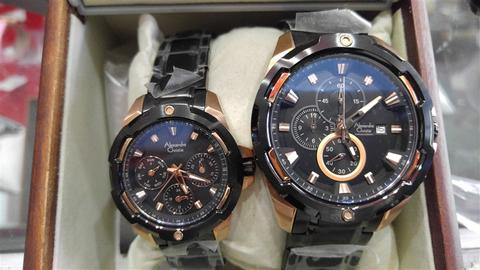 Terjual Jam Tangan Couple Original ALEXANDRE CHRISTIE 6305MC-6305BF ... 964483b626