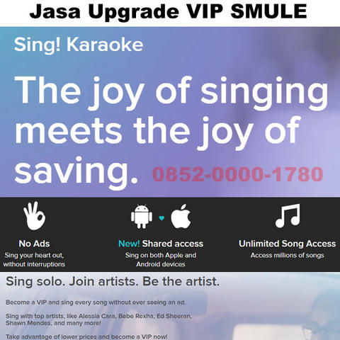 Upgrade VIP Smule Android & iOS
