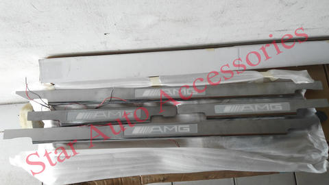 Door Sill Plate / Foot Step LED Mercedes Benz W463 Jeep