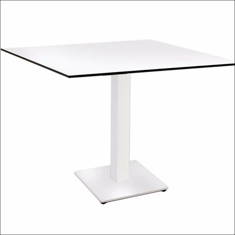 meja compact laminate school canteen outdoor indoor table fast food cafe pub