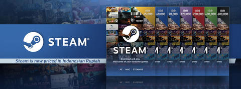 Steam Wallet Code Termurah (IDR dan USD)