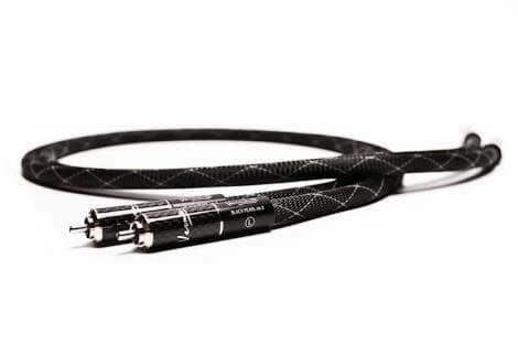 Kabel RCA Interconnect Vermouth Black Pearl MKII