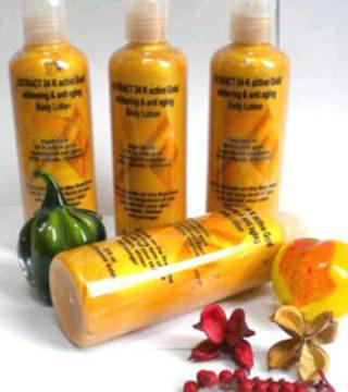 Body Lotion Gold Collagen with Aha