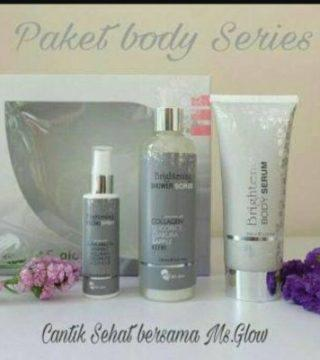 Ms Glow Whitening Pigmented Body Series/paket Body/pemutih
