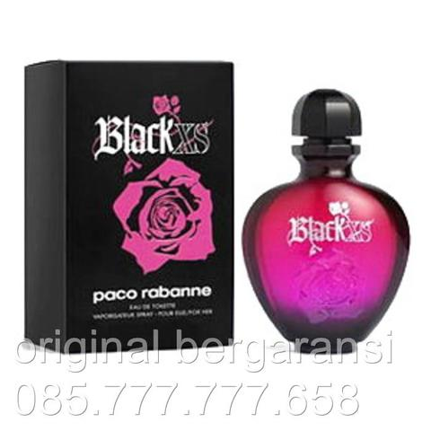 Parfum Original Paco Rabanne Black XS for women EDP 80ml Original