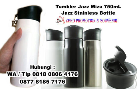 Tumbler Jazz Mizu 750mL - Jazz Stainless Bottle promosi