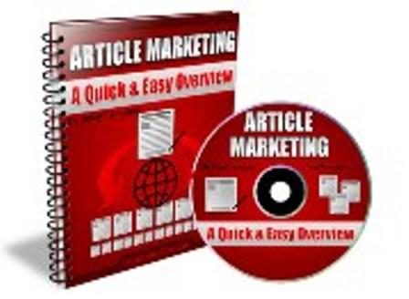 Article Marketing - A Quick & Easy Overview