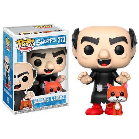 Funko The Smurfs / Funko POP Original The Smurfs: Gargamel & Azrael