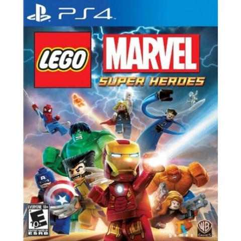 Kaset Game PS4 LEGO Marvel Super Heroes
