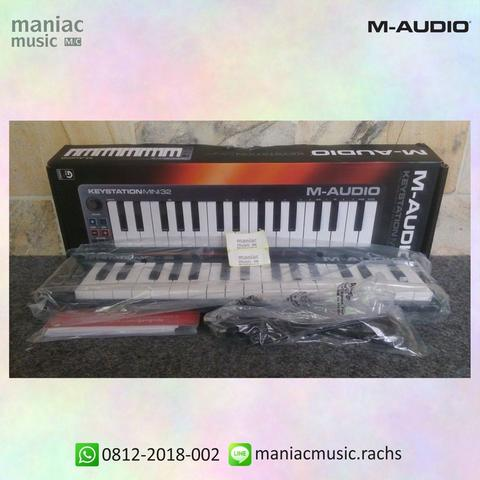 JUAL M-Audio Keystation Mini 32 (Premium Keyboard Controller, MIDI,  Software)
