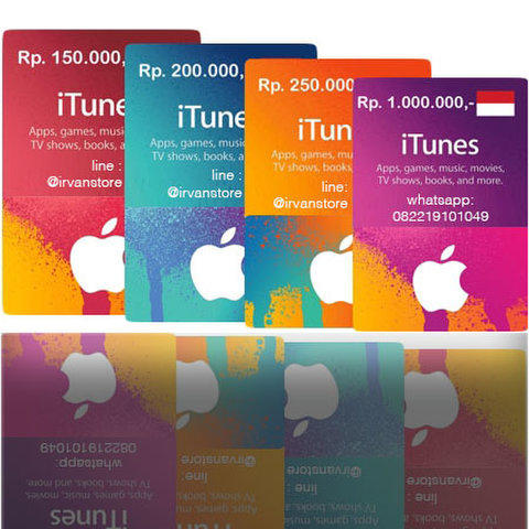 ►►► [RECOMMENDED STORE] iTunes Gift Card IGC Indonesia Appstore Game Music Apple ◄◄◄