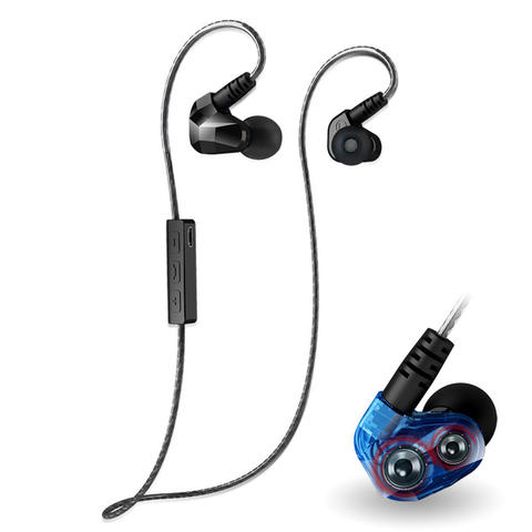 Earphone Bluetooth Moxpad X90 Sport Wireless 4.1 with Microphone