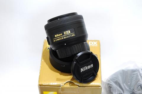 jual, Lensa nikon AF-S 35mm 1.8G DX, Ex Alta, excellent, like new.