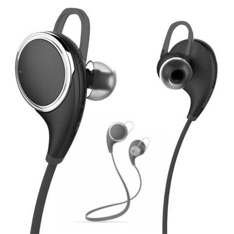 Earphone Bluetooth JOGGER Sport with Microphone - QY8 - Black