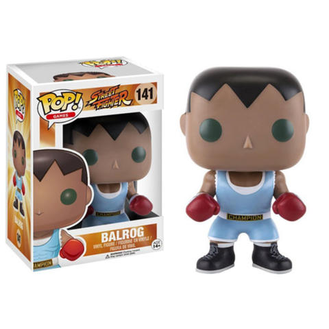 Funko POP / Funko Street Fighter: Balrog ORIGINAL!!!!!