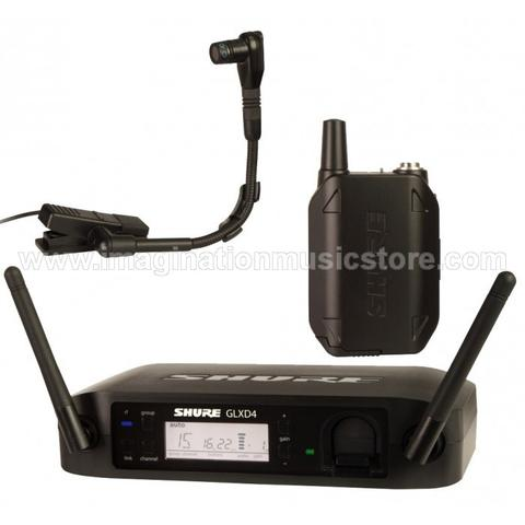 [IMAGINATION MUSIC STORE] Shure GLX-D14/BETA98 Wireless Horn System for Saxophone