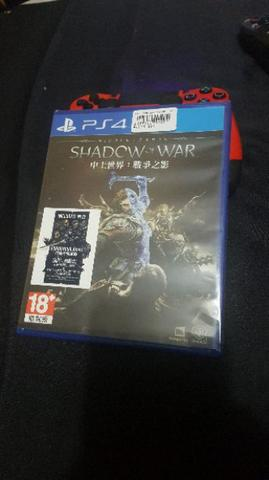 WTS Shadow Of War PS4