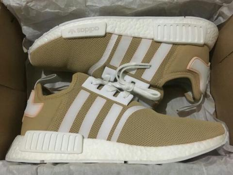 dca327f5e24f Jual adidas NMD R1 SAND STONE CUSTOMIZED
