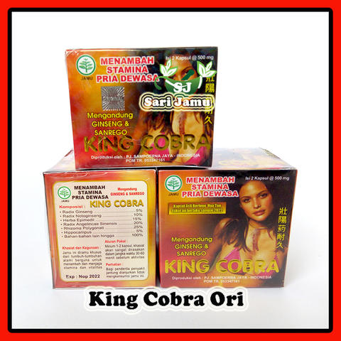 Agen Jamu Herbal King Cobra Original