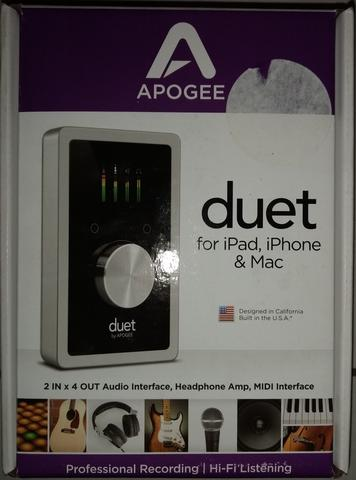 Apogee Duet 2 IN x 4 OUT USB Audio Interface