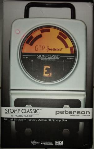 Peterson Stomp Classic Pedal Tuner and Active DI