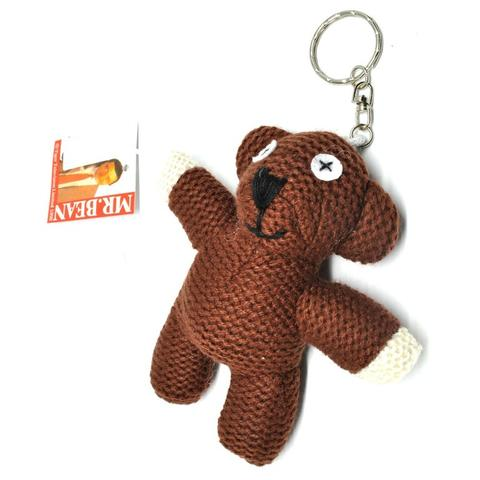 Gantungan Kunci Mr. Bean Teddy Bear Plushy Key Chain / Boneka
