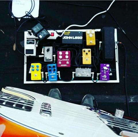 pedal board efek gitar ready stock