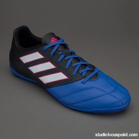 new product c7640 1e3bd ... 8662e 5a4fa sepatu futsal adidas ace 17.4 in black blue