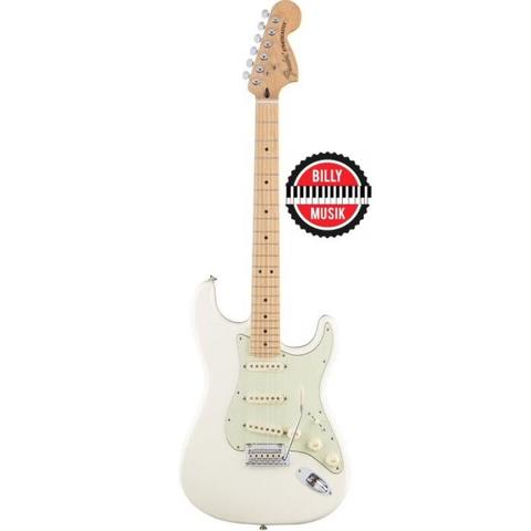 ***BILLY MUSIK*** Fender Classic Series 70s Stratocaster MN Olympic White