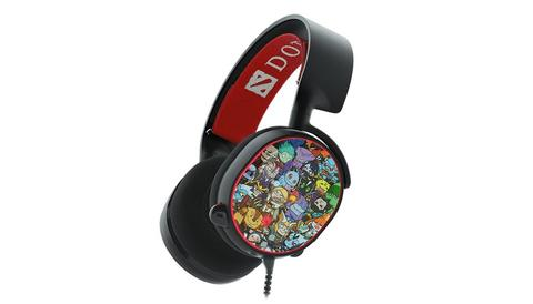 [JoJo CompTech] SteelSeries Arctis 5 Dota 2 Limited - 7.1 Surround RGB Gaming Headset