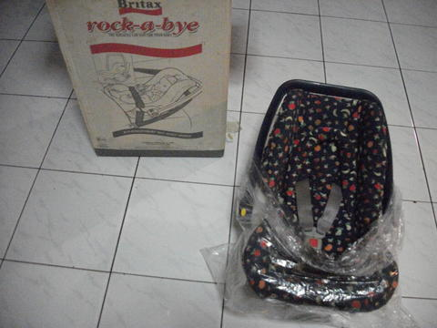 Car Seat : Britax Rock-a-Bye (Made in England)
