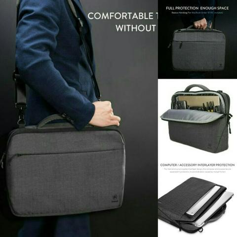 TAS LAPTOP GEARMAX SLEEVE BAG NOTEBOOK MACBOOK PRO RETINA 13 14 INCH