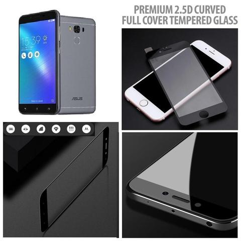 Asus Zenfone 3 Max 5.5 Inch ZC553KL - Premium 2.5D Curved Full Cover Tempered Glass