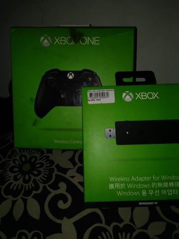 XBOX ONE CONTROLLER + WIRELESS ADAPTER FOR PC
