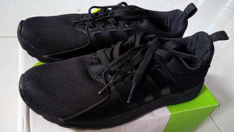 Adidas Cloudfoam Lite Racer Full Black Original Indonesia size 40