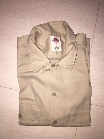 Dickies™ Workshirt short sleeves 1574 Size L 2nd pribadi 'BUKAN OWOLAN' SBY